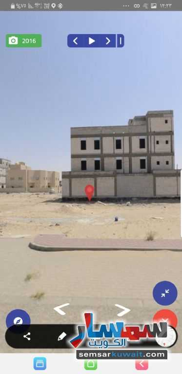 Ad Photo: Land 400 sqm in Khairan  Al Ahmadi
